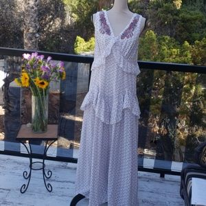 Nwt Johnny Was Biya Embroidered Silk dress size S